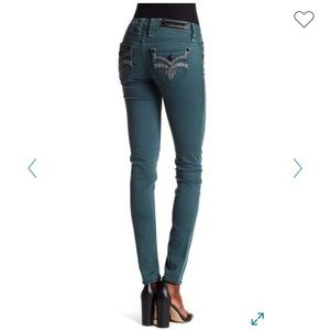 Rock Revival Karla Silvertone skinny jeans sz 27